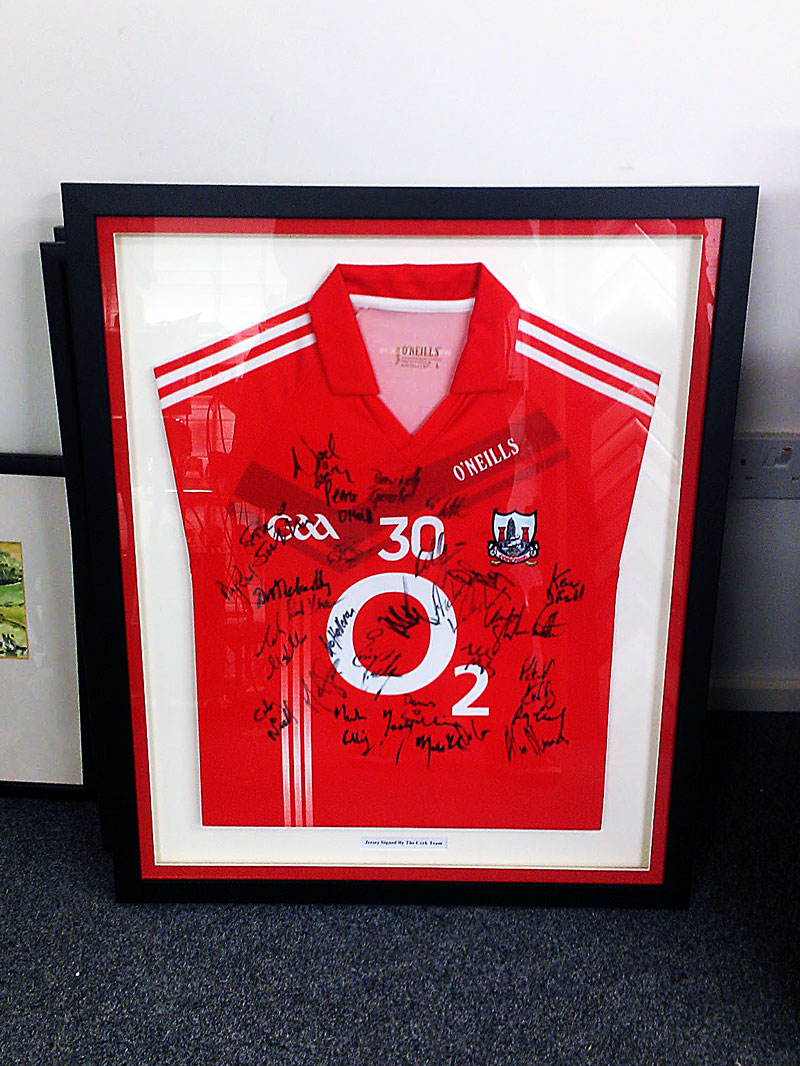 Jersey Framing | Ballincollig Picture Framing