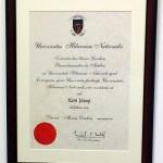 Certificate Framing Cork - Ballincollig Picture Framing Cork